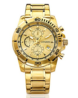 Citizen Gents Chrono Gold-tone Watch