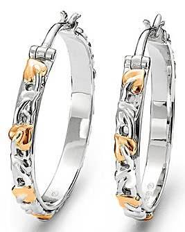 Clogau Tree of Life Hoop Earrings