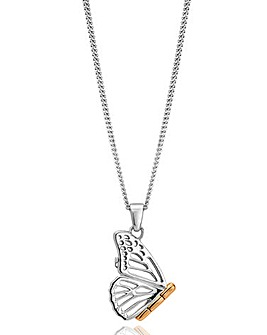 Clogau Butterfly Locket Pendant