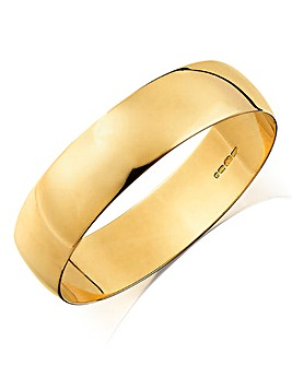 Gents 9ct Gold Wedding Band