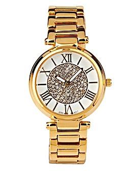 Ladies Sparkly Dial Bracelet Watch