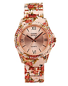 Eton Ladies Floral Watch