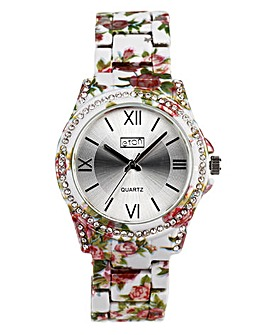 Eton Ladies Floral Watch