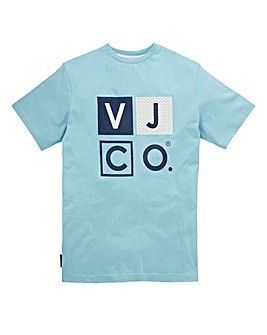 Voi Fades Sky Blue T-Shirt Long