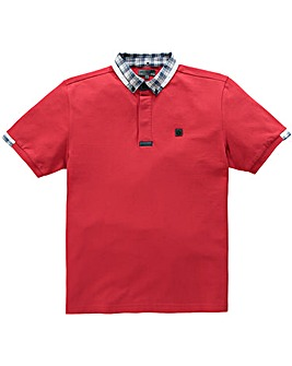 Voi Marine Red Polo Long