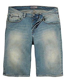 Voi Riley Denim Blue Short
