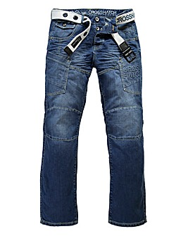 Crosshatch Parcoz Multi-Pocket Jean 29iN