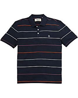 Original Penguin Wanderer Stripe Polo R
