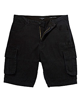 Firetrap Tyler Black Shorts