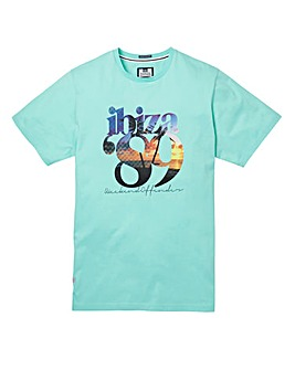 Weekend Offender Ibiza 89 Tea T-Shirt L
