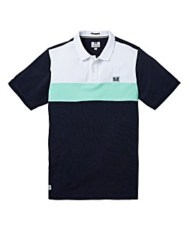 Weekend Offender Tigra Navy Polo Long