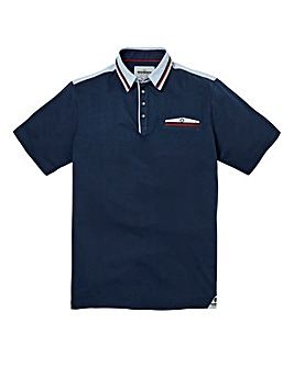 Mish Mash Margarita Navy Polo Long