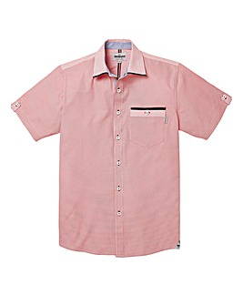 Mish Mash Marine Red Gingham Shirt Reg