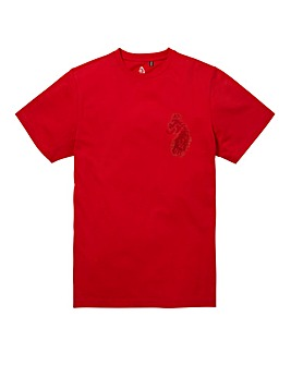Luke Sport Victory Marina Red T-Shirt Re