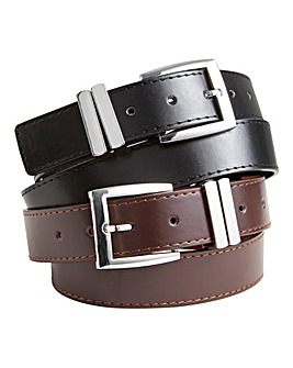 Williams & Brown Pack Of 2 Jeans Belts