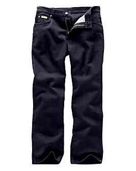 Wrangler Texas Stretch Black Jeans 36Ins