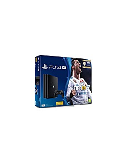 PS4 Pro 1TB Console Including FIFA 18