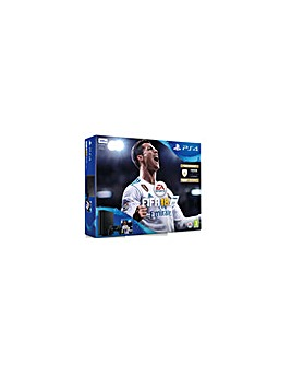 PS4 Slim 500gb Black Including FIFA 18