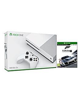 Xbox One S 500gb White Console  Forza 7