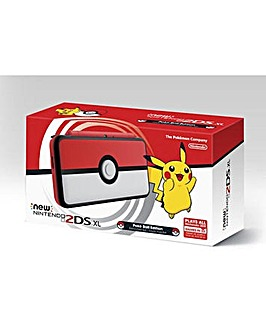 New 2DS XL Poke Ball Edition Console