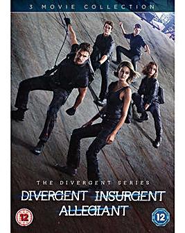 Divergent Insurgent Allegiant TripleDVD