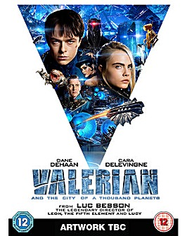 Valerian City of A Thousand Planets DVD
