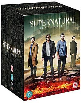 Supernatural Season 1 to 12 DVD
