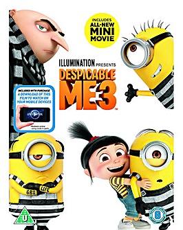 Despicable Me 3 DVD
