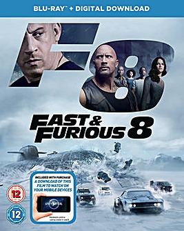 Fast & Furious 8 Blu-ray