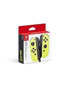 Joy Controller Pair  Yellow Switch