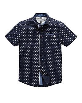 Mish Mash Supreme Navy Print Shirt Reg