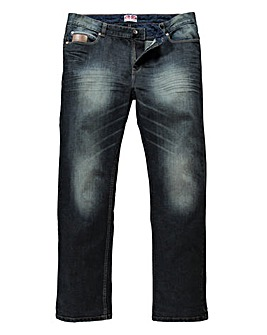 Lambretta Shawty Denim Jean 33In Leg