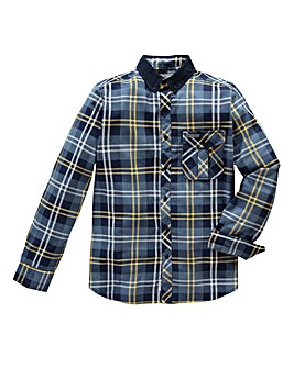 Voi Holmes Long-Sleeve Check Shirt Long