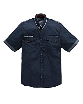 Hamnett Gold Hape Navy Shirt Long