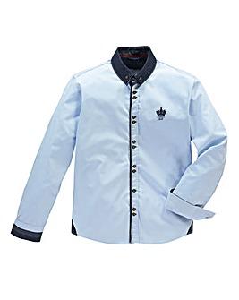 Hamnett Gold Obrian Sky Blue Shirt Reg
