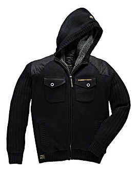 Hamnett Gold Barclay Black Hood Knit