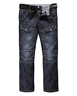 Crosshatch Control DW Cargo Jean 33In