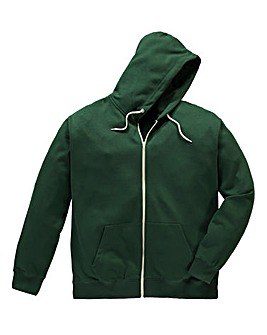 Jacamo Forestgree Bailey Hooded Top Long