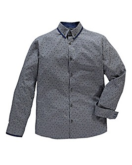 Black Label By Jacamo L/S Riley Shirt L