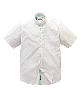 Jacamo White Hamlet Summer Shirt Long