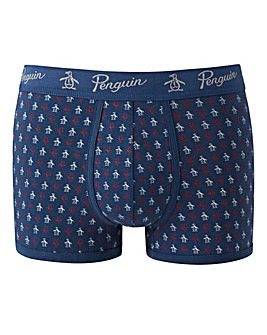 Penguin Pack Of 2 Stripe Print Trunks