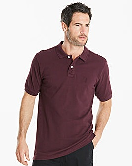 Capsule Plum Embroidered Polo Regular