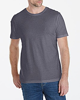 Capsule Crew Neck Charcoal T-shirt Long