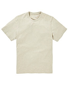Capsule Crew Neck Oatmeal Tee Regular