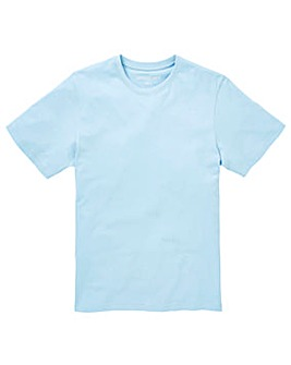 Capsule Crew Neck Blue T-shirt Regular