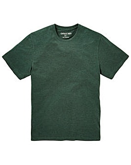Capsule Crew Neck Green T-shirt Long