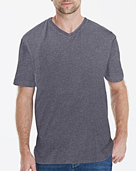 Capsule V-Neck Charcoal T-shirt Long