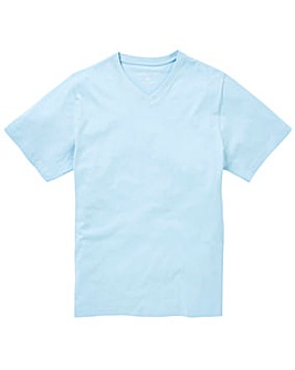 Capsule V-Neck Ice Blue T-shirt Long