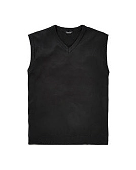 Capsule Black V-Neck Slipover