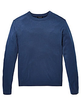 Capsule Storm Blue Crew Neck Jumper